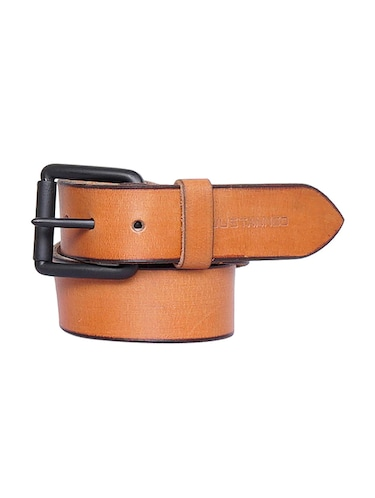 tan leather belt - 15193457 - Standard Image - 1