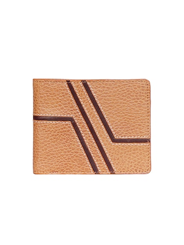tan leather wallet - 15193522 - Standard Image - 1