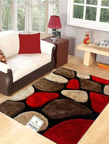 Buy Geometric Pattern Polyester Carpet for Unisex from Avioni for ₹2664 at 52% off | 2019 Limeroad.com
