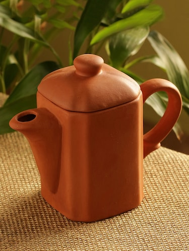 Buy Handmade Earthen Clay Water Jug With Lid for Unisex from