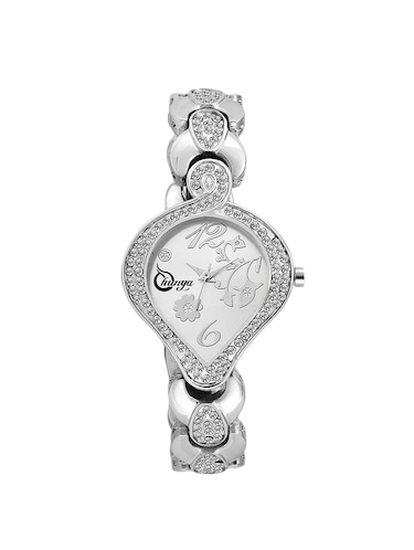 Shunya S-312 Silver Stylish Attractive Watch - For Women - 15239354 - Standard Image - 1