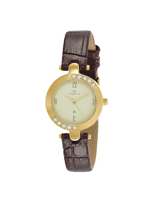 Maxima 29413LMLY Gold Watch - For Women - 15280560 - Standard Image - 1