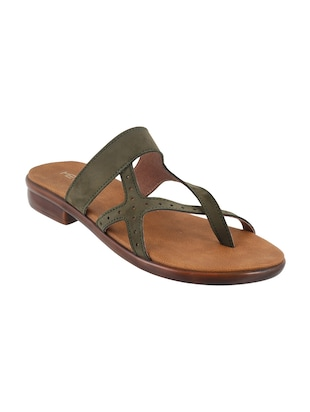 green one toe sandal - 15339519 - Standard Image - 1