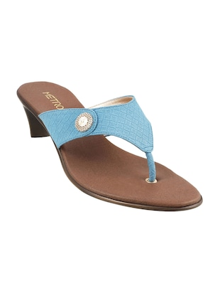 light blue toe separator sandals - 15340001 - Standard Image - 1