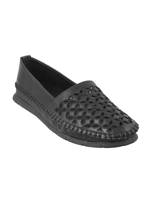 black slip on loafers - 15340045 - Standard Image - 1