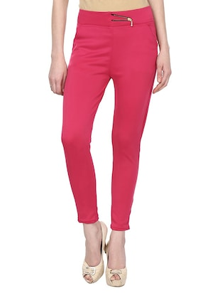 mid rise ankle length jeggings - 15341029 - Standard Image - 1