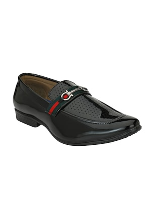 black Patent Leather slip ons - 15345433 - Standard Image - 1
