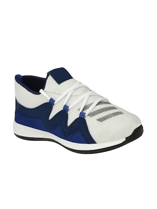 white Mesh sport shoes - 15345440 - Standard Image - 1