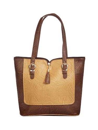 dd48696b58f7 Buy Brown Leatherette (pu) Regular Handbag by Dutty - Online ...