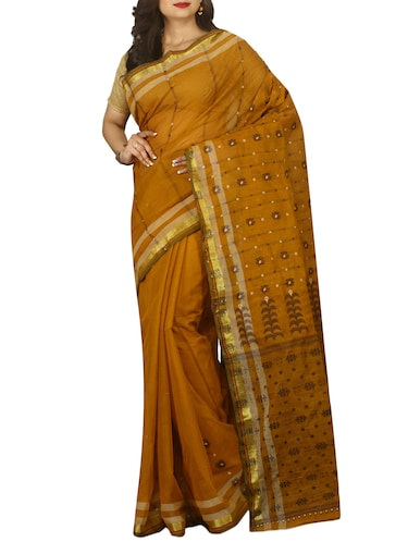 jacquard motif baluchari saree with blouse - 15412288 - Standard Image - 1