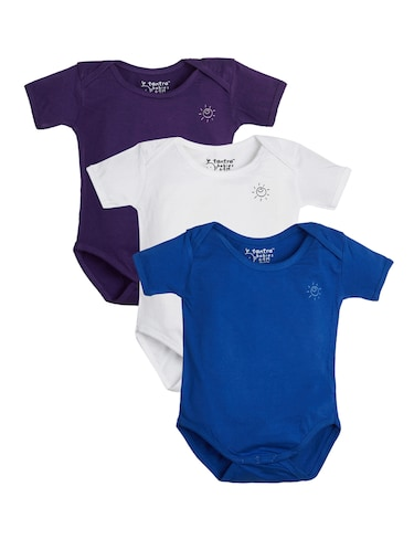 multi colored cotton onesies - 15415147 - Standard Image - 1
