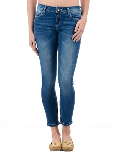 Stone wash skinny jeans - 15415252 - Standard Image - 1