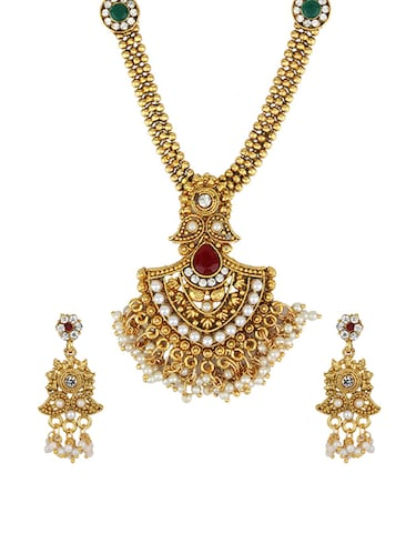 Necklaces & earrings set - 15415379 - Standard Image - 1
