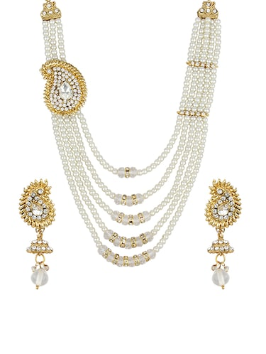 Necklaces & earrings set - 15415436 - Standard Image - 1