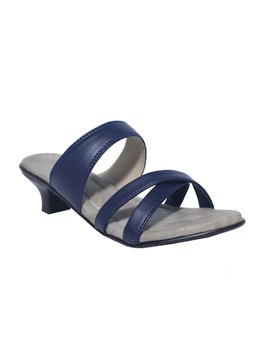 blue slip on sandals - 15416722 - Standard Image - 1