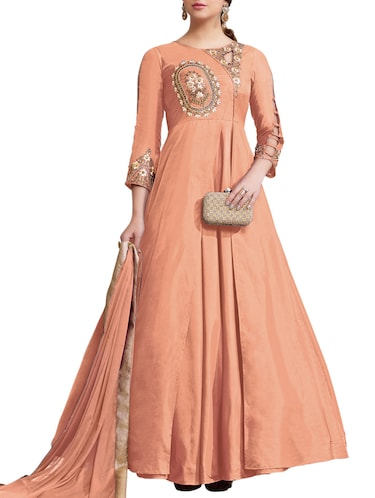 Embellished layered suit set - 15417488 - Standard Image - 1
