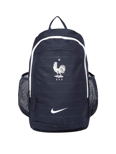 navy blue polyester backpack - 15417769 - Standard Image - 1