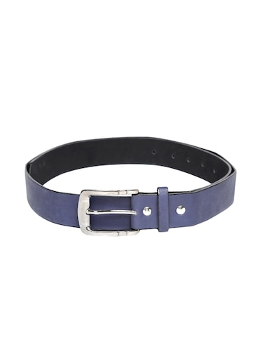 blue synthetic leather) belt - 15417966 - Standard Image - 1