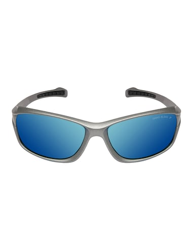 David Blake Green Sport Polarized Uv Protected Mirrored Sunglass - 15418715 - Standard Image - 1