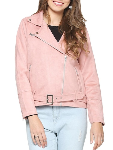 Soft shell asymmetrical closure jacket - 15418719 - Standard Image - 1