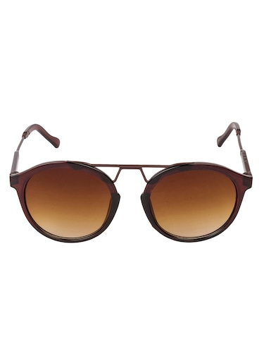 Arzonai Round Brown-Brown UV Protection Sunglasses [MA-397-S3 ] - 15420488 - Standard Image - 1