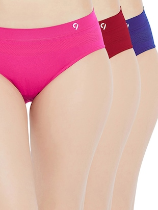set of 3 multi colored panty - 15427155 - Standard Image - 1