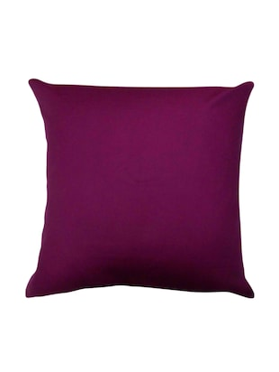 Solid cushion cover - 15429077 - Standard Image - 1