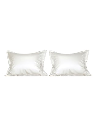 Stoa Paris Satin Pillow covers for the silky smooth feel set of 2pcs - 15431013 - Standard Image - 1