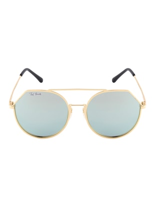 Ted Smith Unisex Aviator Sunglasses (TS-P0849_C8) - 15431498 - Standard Image - 1