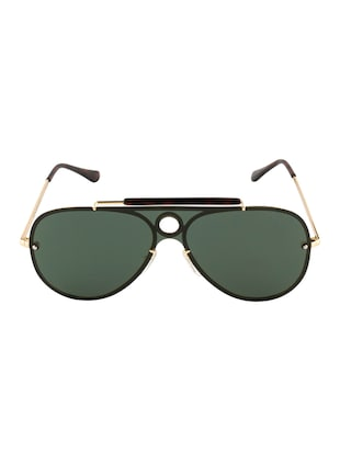 Ted Smith Unisex Aviator Sunglasses (TS-P0938_GRN) - 15431579 - Standard Image - 1
