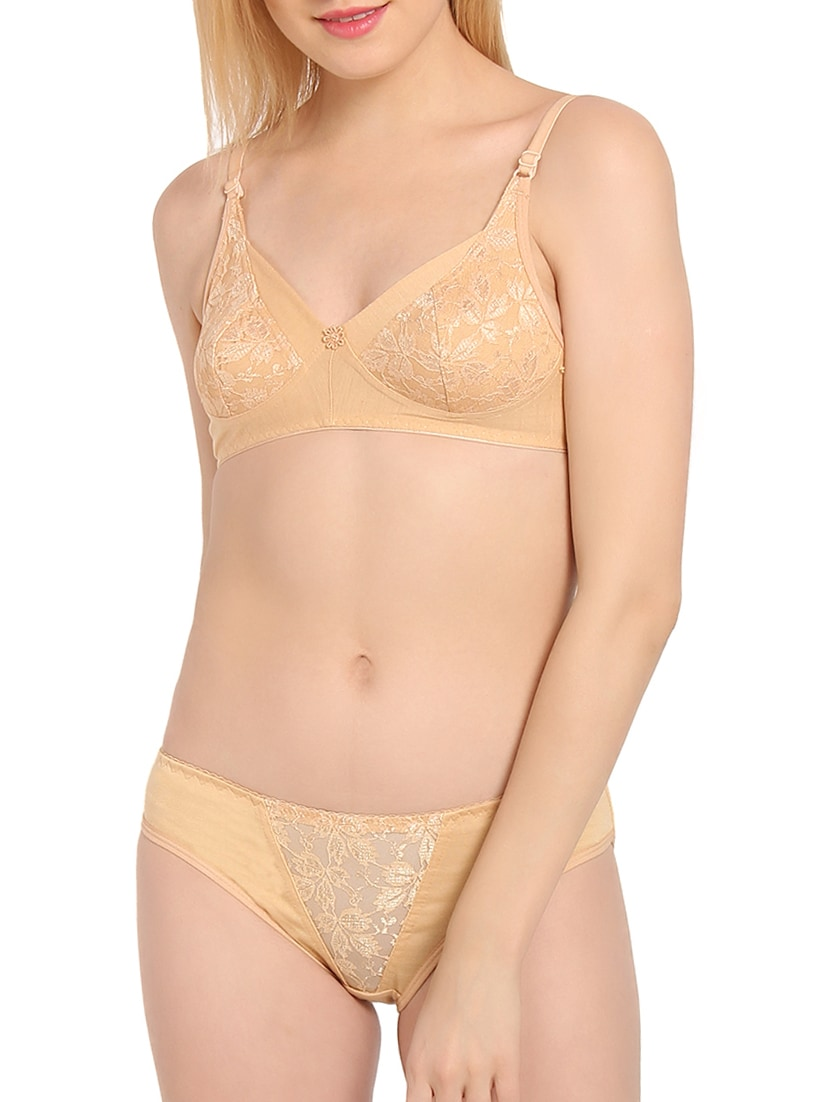 f0ad651ca Buy Laced Bra And Panty Set for Women from Innocence for ₹374 at 25 ...