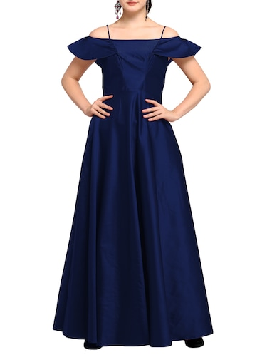 d06be306458 Royal Blue Flared Gown