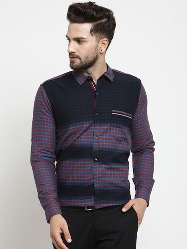 07e0e37968 Buy Multi Colored Cotton Casual Shirt for Men from Kivon for ₹870 ...