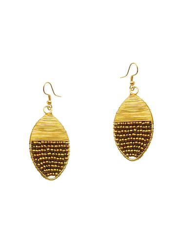 Gold Tone Beaded Earrings - 15492478 - Standard Image - 1