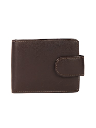 brown leather wallet - 15495224 - Standard Image - 1