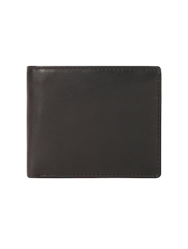 black leather wallet - 15495254 - Standard Image - 1