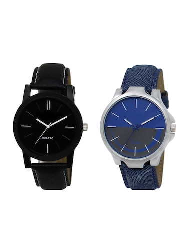 ACNOS Round dial analog watch combo(WAT-LR-05-24-COMBO) - 15500619 - Standard Image - 1
