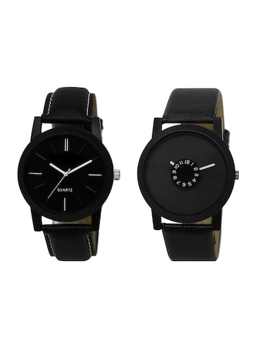 ACNOS Round dial analog watch combo(WAT-LR-05-25-COMBO) - 15500620 - Standard Image - 1