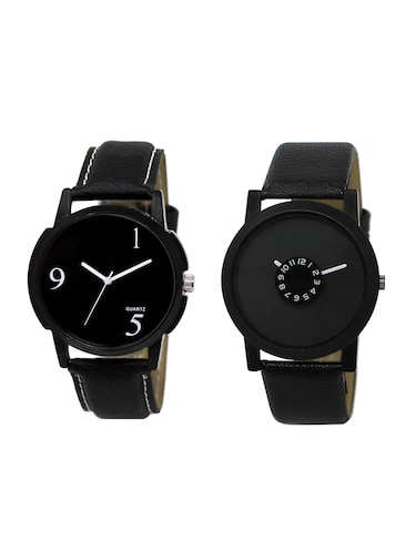 ACNOS Round dial analog watch combo(WAT-LR-06-25-COMBO) - 15500687 - Standard Image - 1