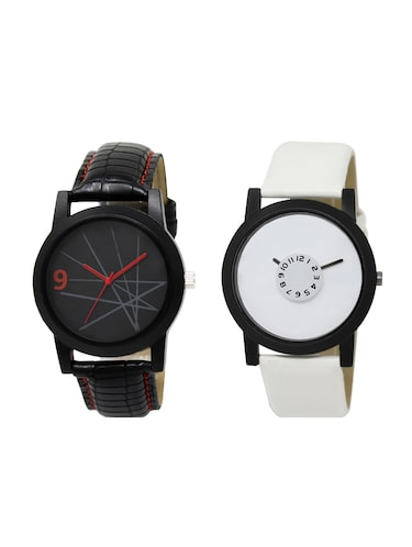 ACNOS Round dial analog watch combo(WAT-LR-08-26-COMBO) - 15500819 - Standard Image - 1