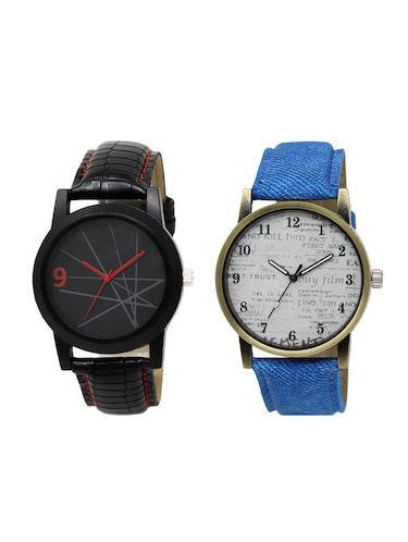ACNOS Round dial analog watch combo(WAT-LR-08-28-COMBO) - 15500821 - Standard Image - 1