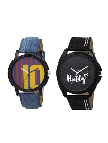 ACNOS Round dial analog watch combo(WAT-LR-10-31-COMBO) - 15500951 - Standard Image - 1