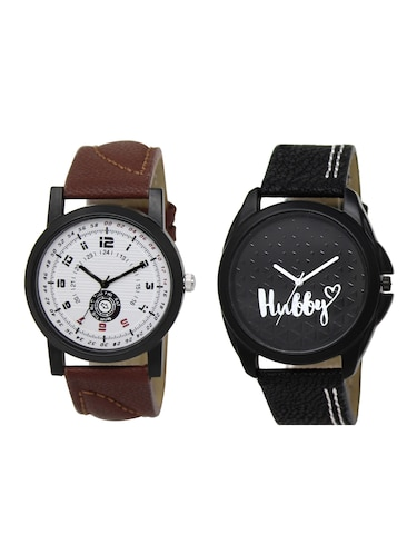 ACNOS Round dial analog watch combo(WAT-LR-11-31-COMBO) - 15501013 - Standard Image - 1