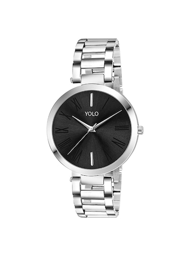YOLO round dial analog watch YLC-0124 - 15502208 - Standard Image - 1