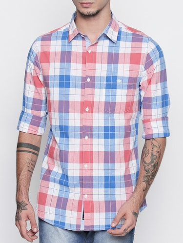 multi colored cotton casual shirt - 15505390 - Standard Image - 1