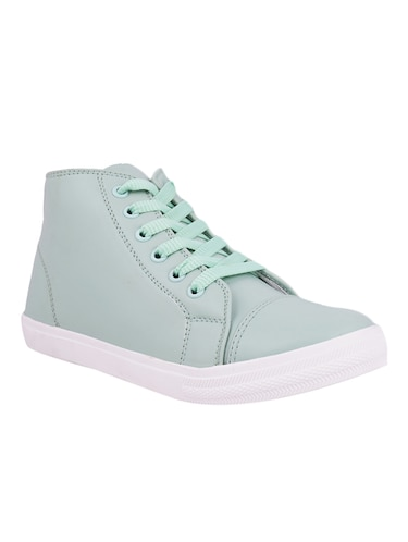 blue lace-up sneakers - 15505697 - Standard Image - 1