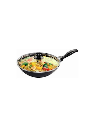 Futura Nonstick Stir-Fry Pan 2 L, 26 cm, 3.25 mm with Glass Lid (Q72) - 15537030 - Standard Image - 1