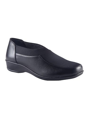 black slip on formal shoes - 15563767 - Standard Image - 1