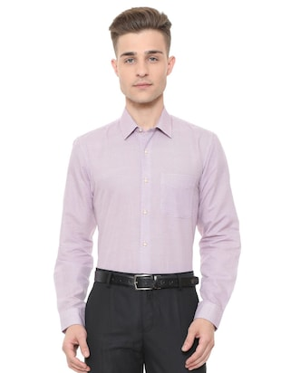 multi cotton formal shirt - 15608630 - Standard Image - 1