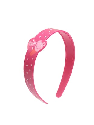 pink plastic hairband - 15611158 - Standard Image - 1